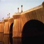 pont neuf  par Christo 1980