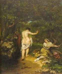 Baigneuses  1853