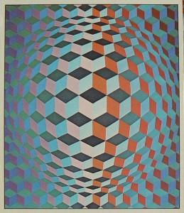 012.vasarely .Cheyt-G. 1970