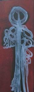 roi des abysses lithographie 94L07 32,5x13