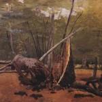 """""""Troncs à Fontainebleau"""" de Corot"""