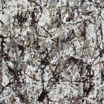 Cathedral.( Duco et aluminium sur toile. Dallas.181x89. 1947)