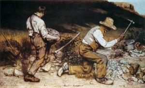 les casseurs de pierres. 1849