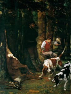 la curée. 1856