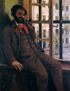 autoportrait à Sainte-Pélagie.1872