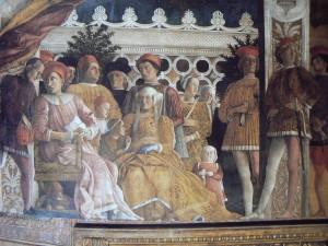 mantegna. chambre des époux. 1474. mantoue