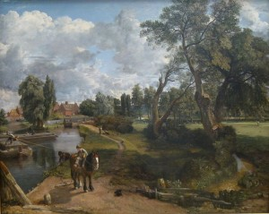 "Constable. ""moulin de Flatford"" 1816-17"