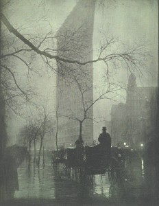 """New York. The Flatiron Evening"" de Steichen (1906)"