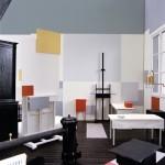 atelier de Mondrian rue du Départ à Paris