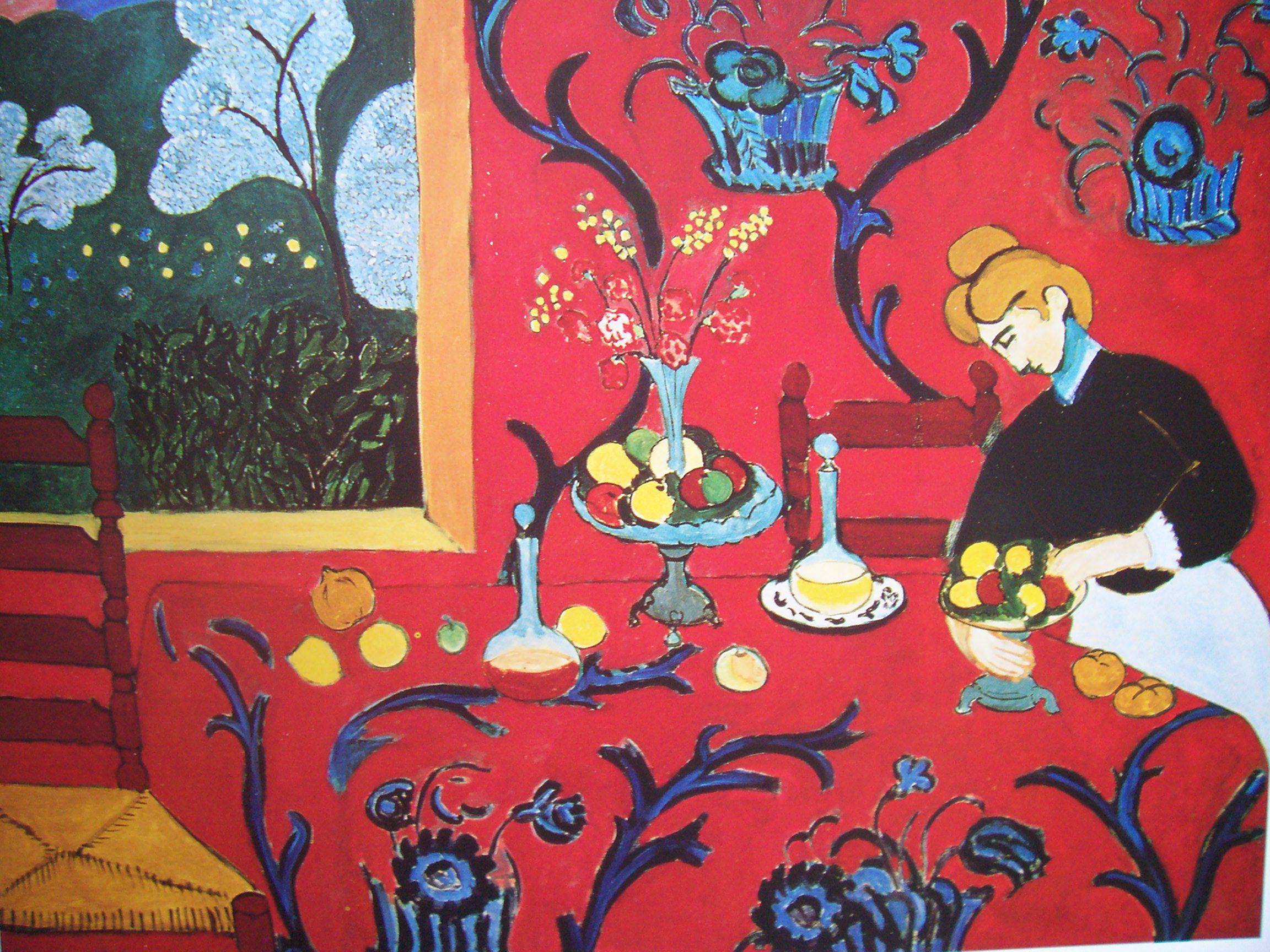 * une toile sur la toile * - Page 16 Matisse.1909.la-desserte-rouge.