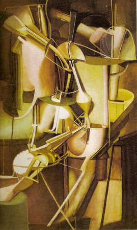 "Marcel Duchamp "" Mariée.1912"