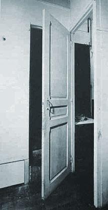"Marcel Duchamp "" Porte 11 rue larrey"