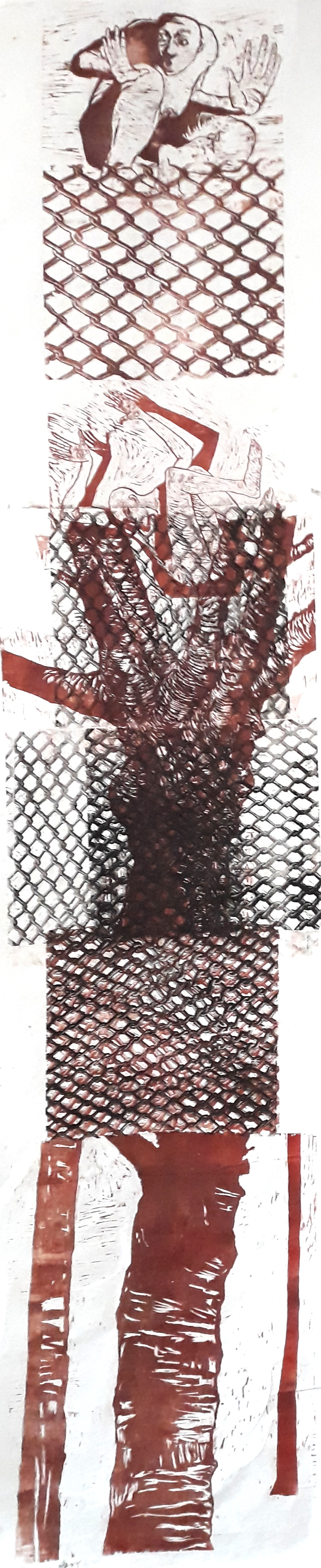 thanathos lithographie 93L05 32,5x13